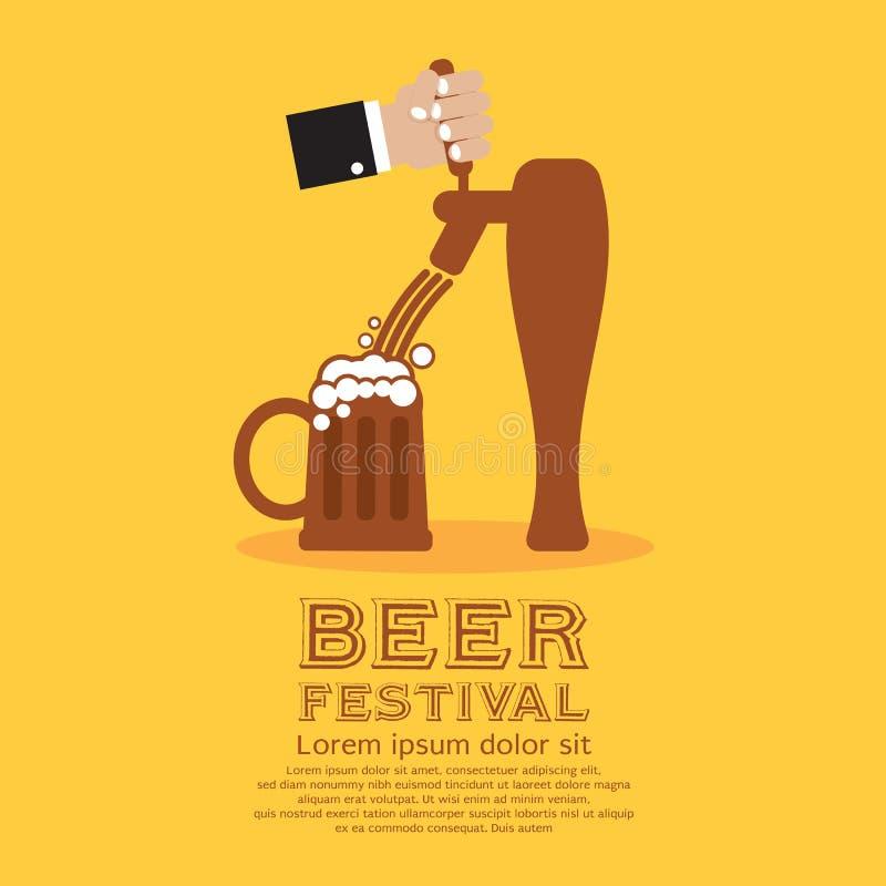 Bierfestival royalty-vrije illustratie
