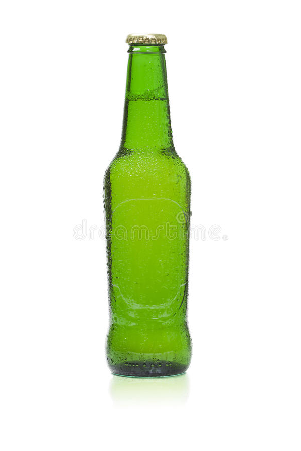 Bierflasche lizenzfreie stockfotografie