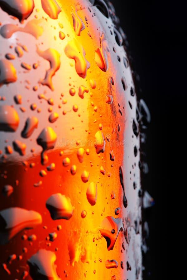 Bierflasche lizenzfreie stockfotos