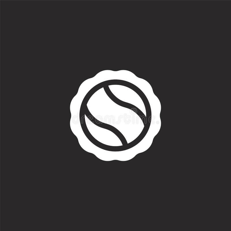 Bierglb pictogram Gevuld bierglb pictogram voor websiteontwerp en mobiel, app ontwikkeling bierglb pictogram van gevulde bierinza vector illustratie