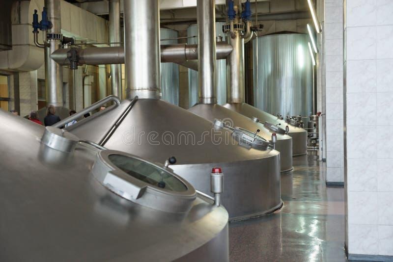 Bierherstellungmaßeinheit lizenzfreies stockfoto