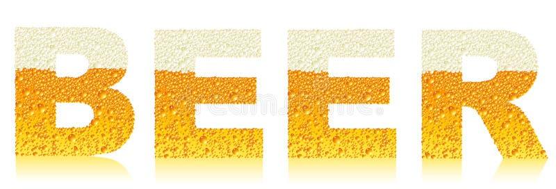 Bierkennsatz lizenzfreie abbildung