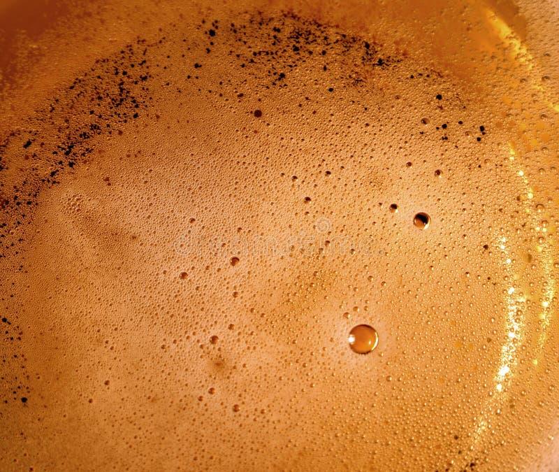 Bierluftblasen lizenzfreie stockfotos