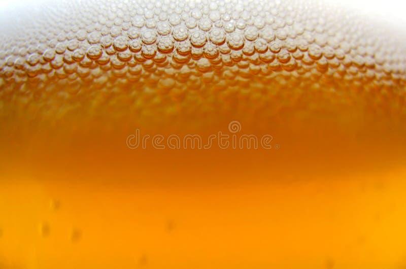 Biermakro stockfoto