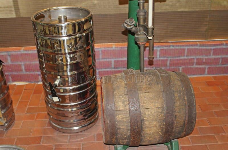 Bierproductie royalty-vrije stock afbeelding