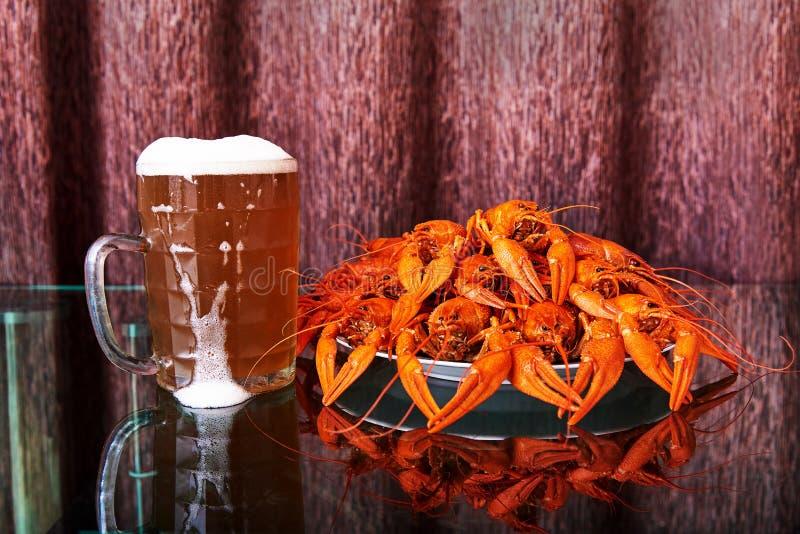 Biersnack stock foto's