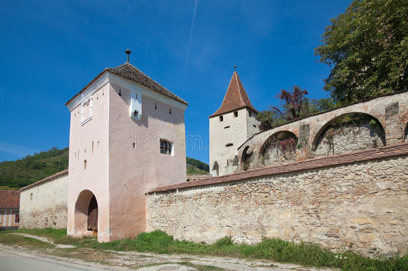 Biertan Fortified Church royalty free stock images