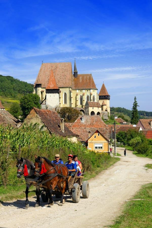 Biertan fortified church, Romania stock images