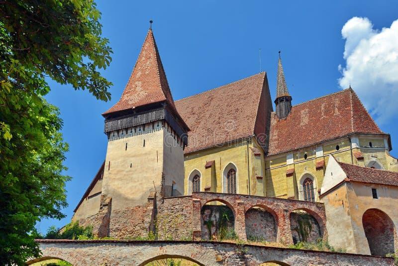 Biertan Fortress Church Romania. royalty free stock image