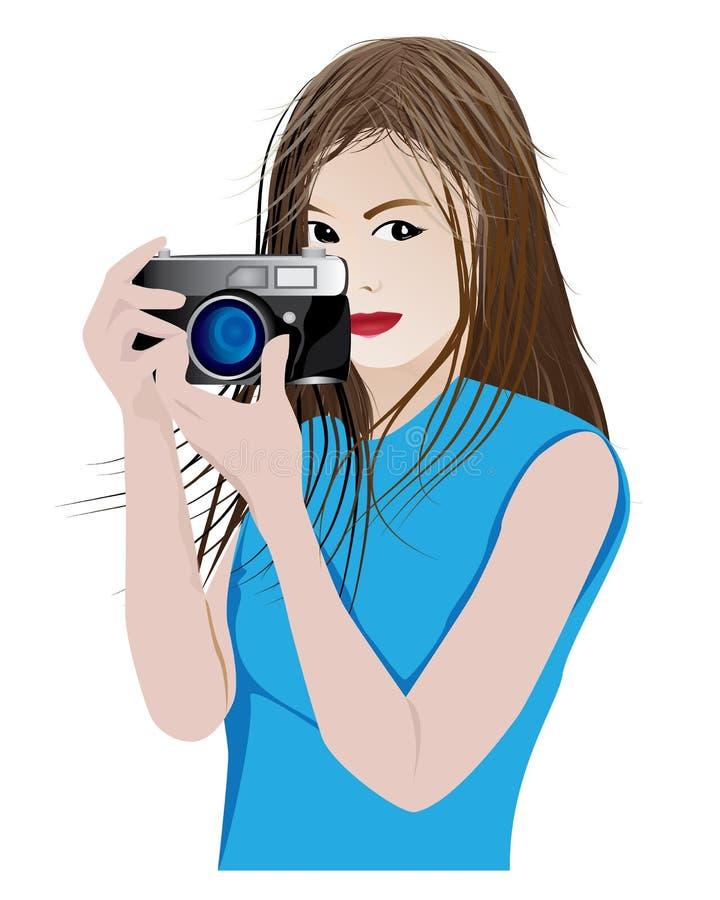 Bierze fotografii kreskówki kształt royalty ilustracja
