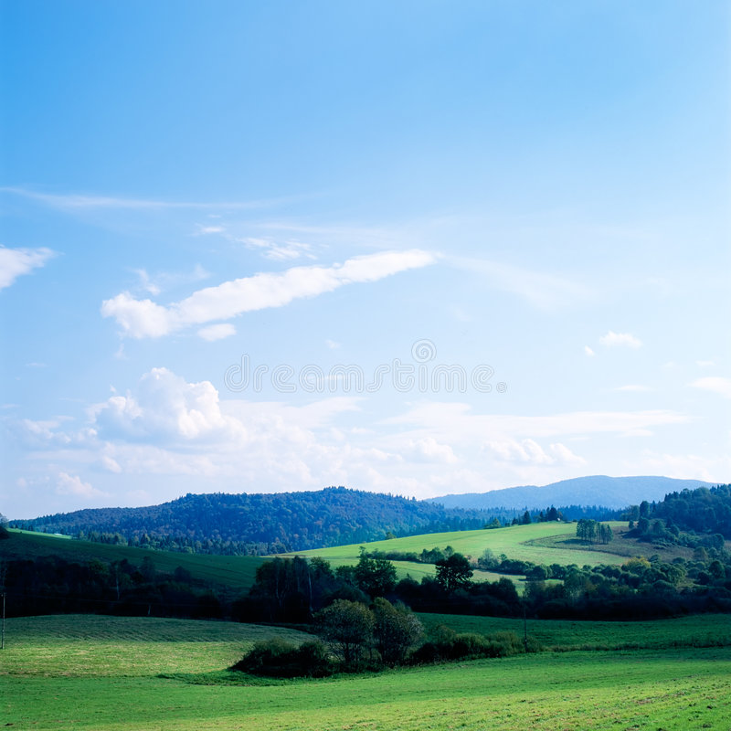 Download Bieszczady stock photo. Image of summer, outside, grass - 2321988