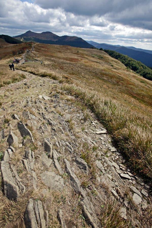 Bieszczady góry zdjęcie stock