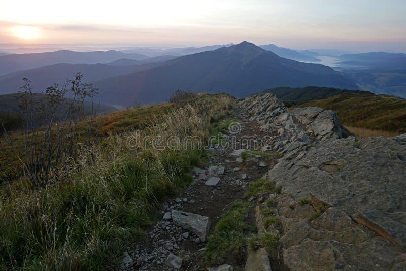 bieszczady góry zdjęcia stock