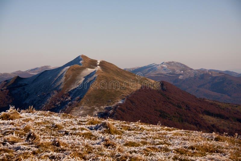 Bieszczady, montagne, montagnes de loup, photographie stock
