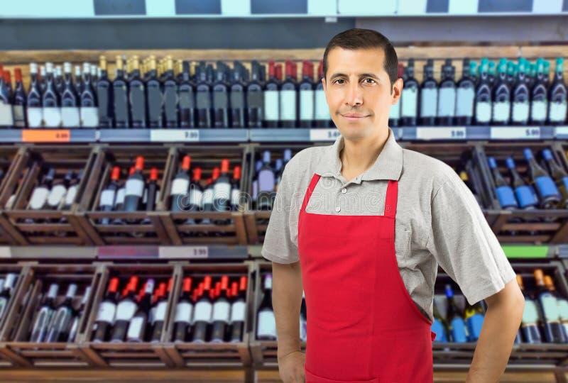 Bieten Sie den besten Wein an lizenzfreies stockbild
