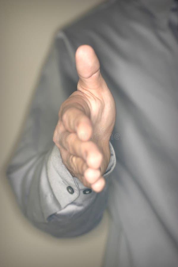 Bieten Sie An, Hände Zu Rütteln Lizenzfreies Stockfoto