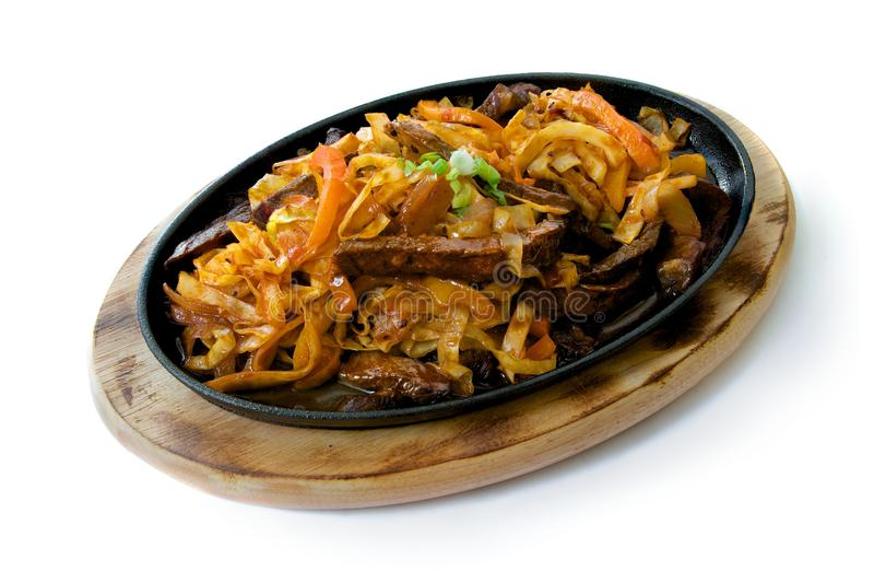 Bife coreano fotos de stock
