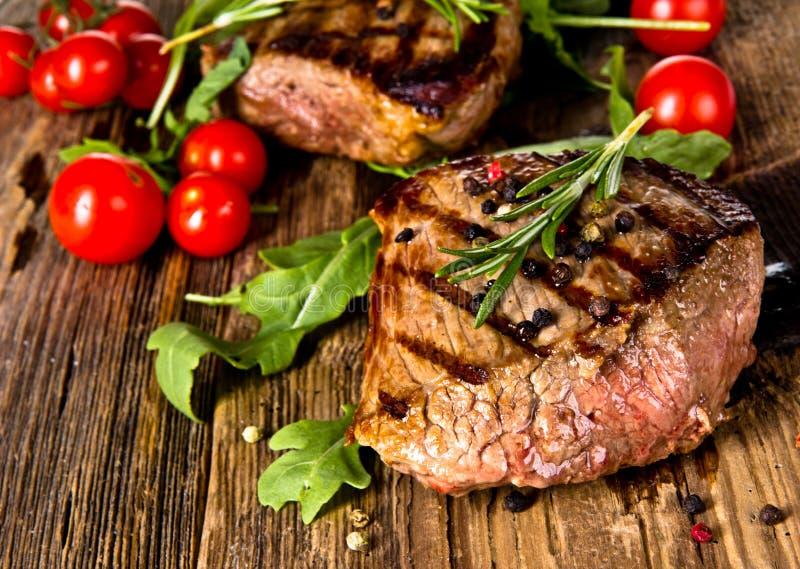 Bife de carne foto de stock royalty free