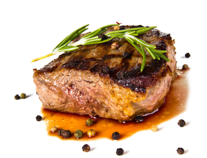 Bife de carne fotos de stock