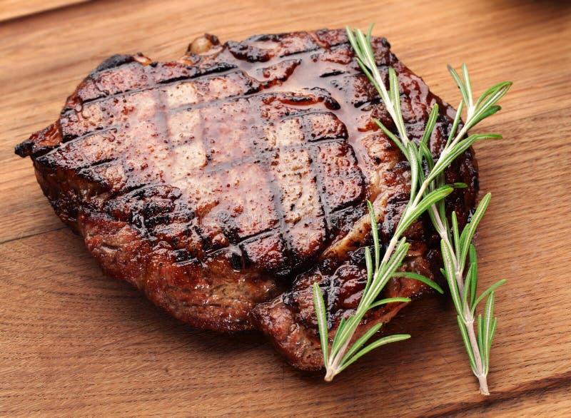 Bife de carne. fotografia de stock