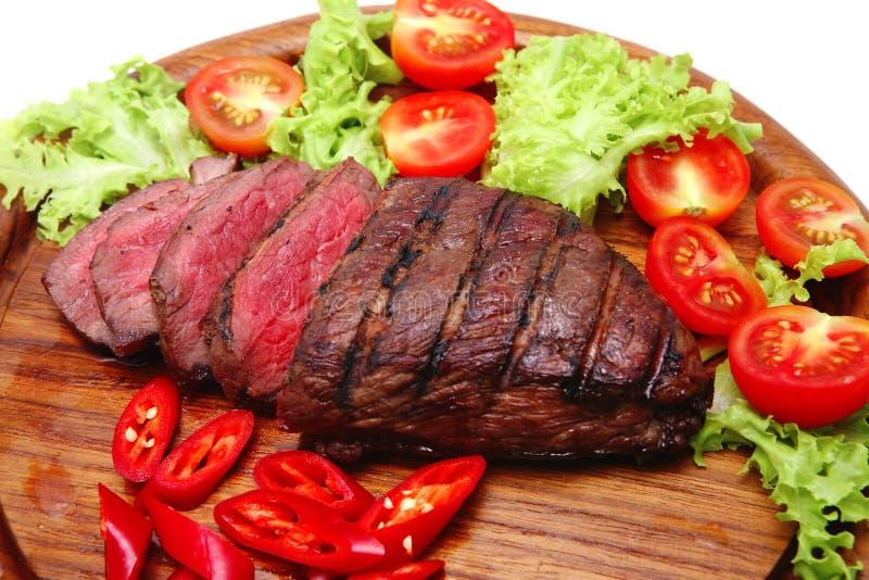 Bife de carne fresco do assado imagem de stock