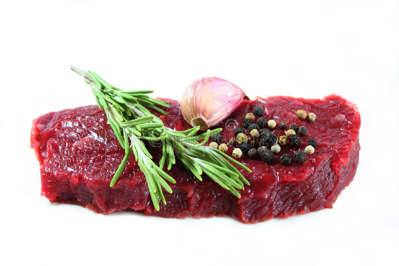 Bife de Sirloin fotos de stock royalty free