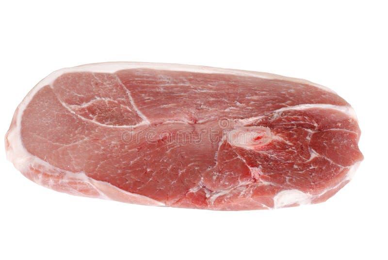 Bife do centro do pé da carne de porco fotos de stock royalty free