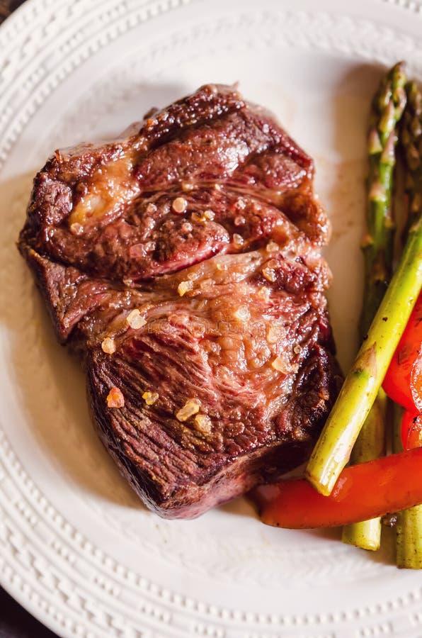Bife do mandril da carne imagens de stock royalty free