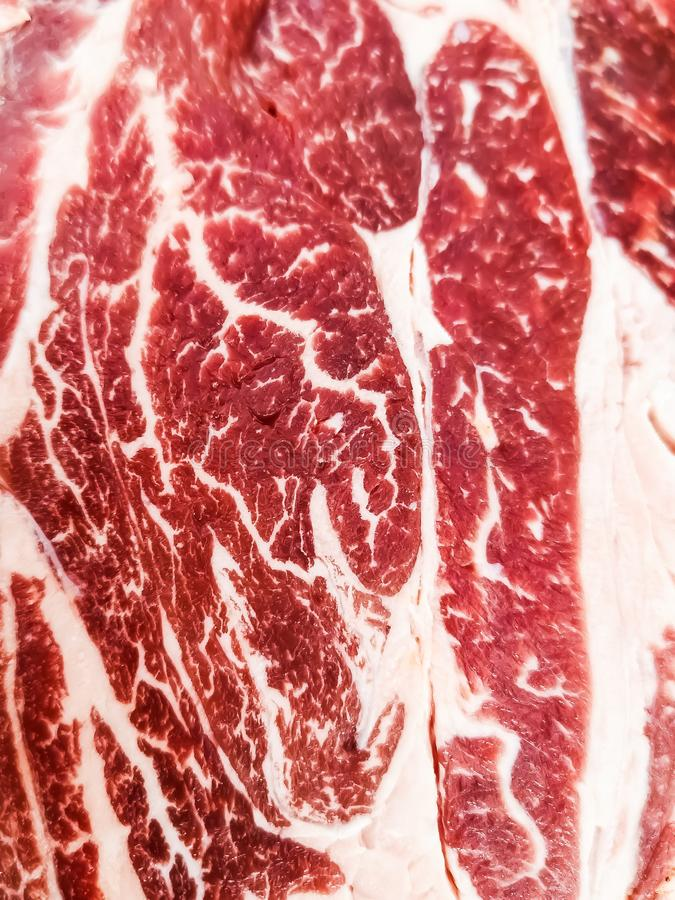 Bife do olho do mandril fotografia de stock