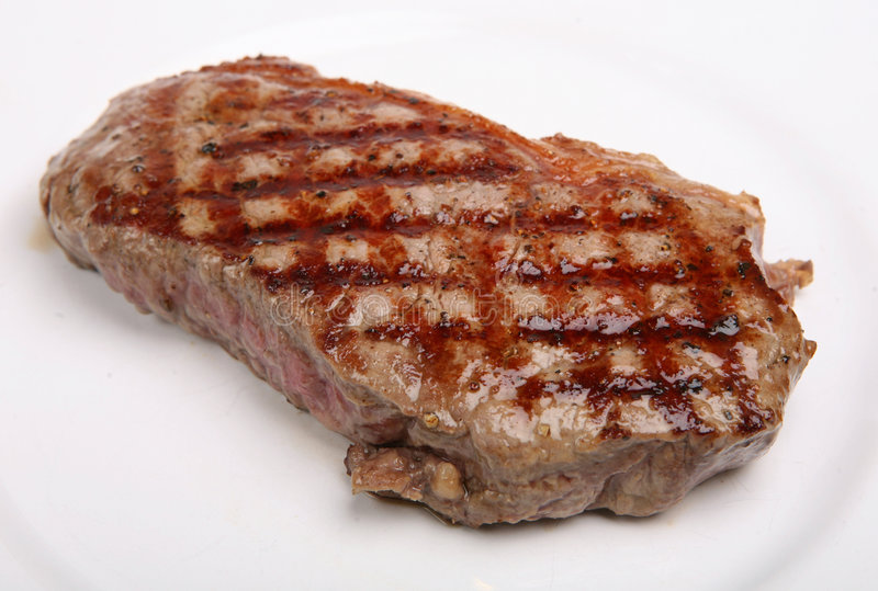 Bife do Sirloin foto de stock