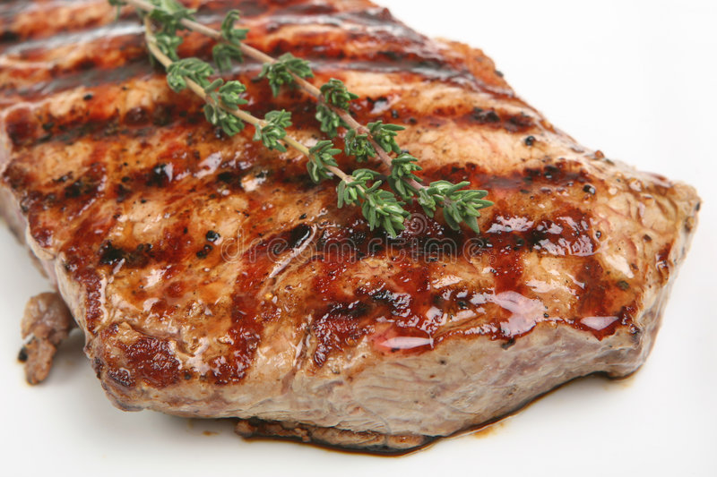 Bife do Sirloin imagem de stock royalty free