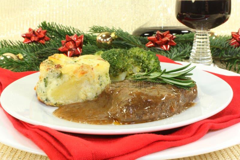 Bife do Venison foto de stock