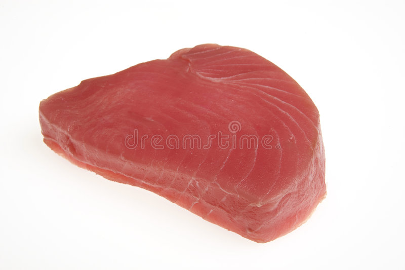 Bife fresco do atum foto de stock royalty free