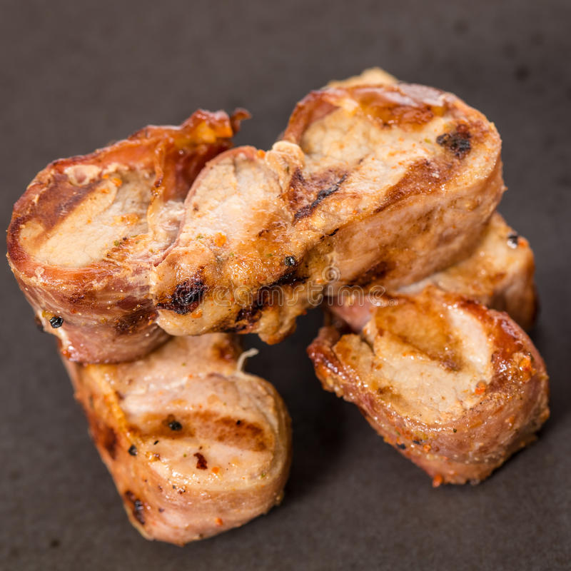 Bife grelhado carne imagens de stock royalty free