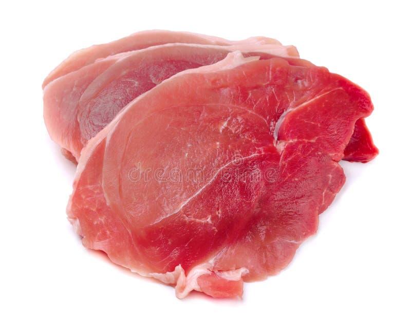 Bifes da carne de porco imagem de stock royalty free