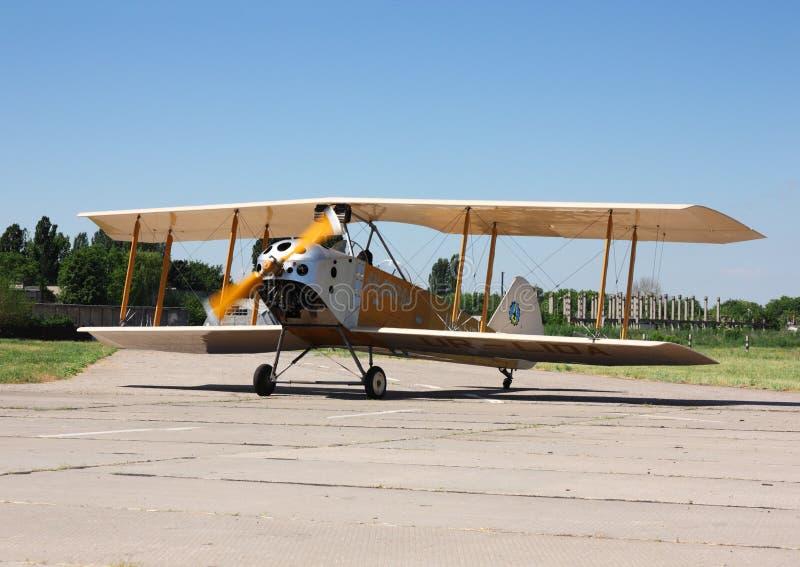 Biflugzeug lizenzfreies stockfoto