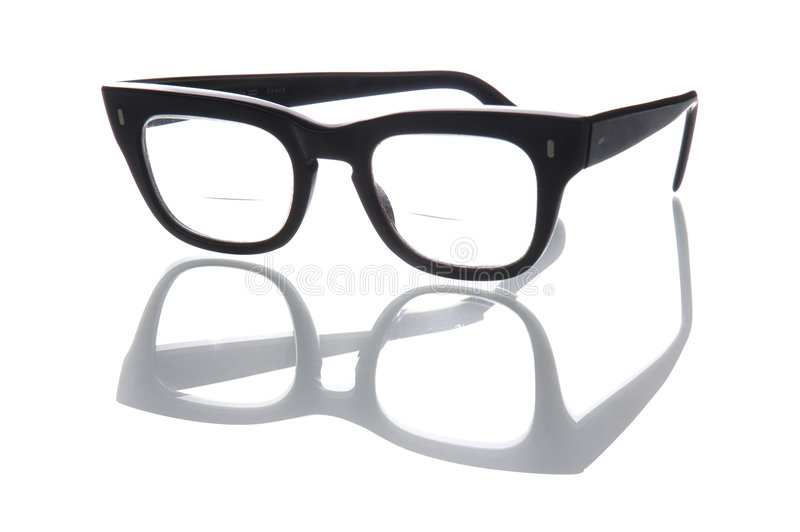 bifocals 免版税库存图片