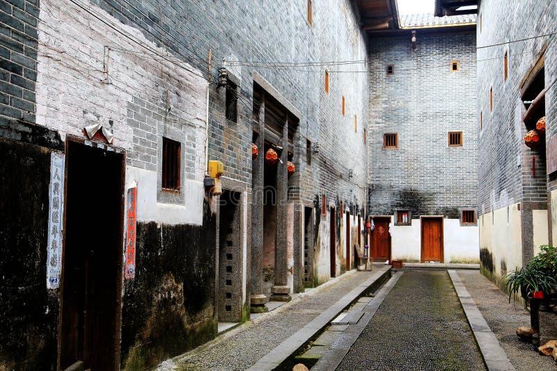Bifogat hus för Mantang Hakka royaltyfri fotografi