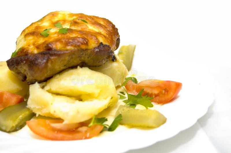 Bifteck Délicieux Image libre de droits