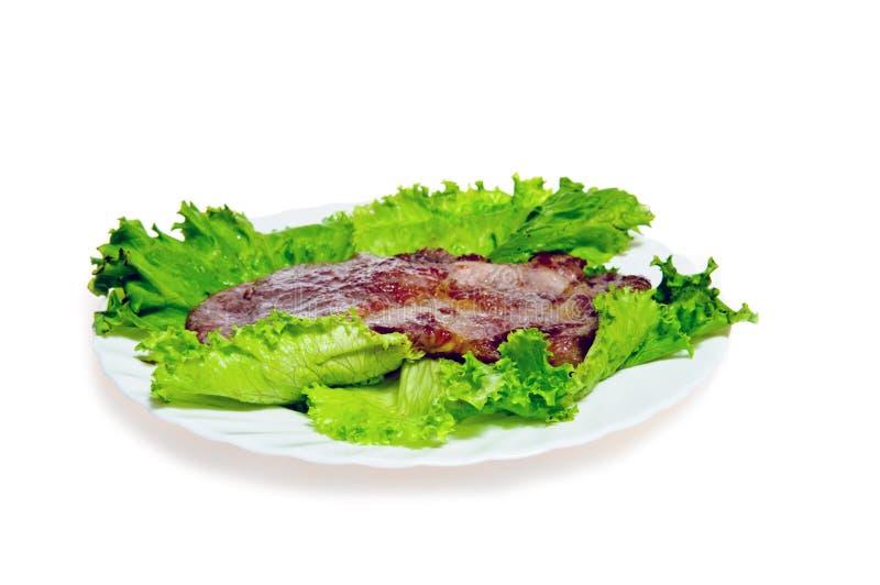Bifteck délicieux grillé de viande photo libre de droits