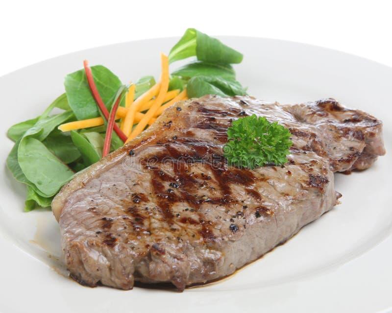 Bifteck d'aloyau photographie stock