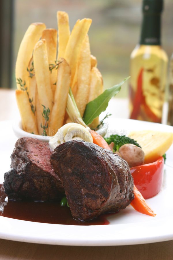 Bifteck de filet images libres de droits