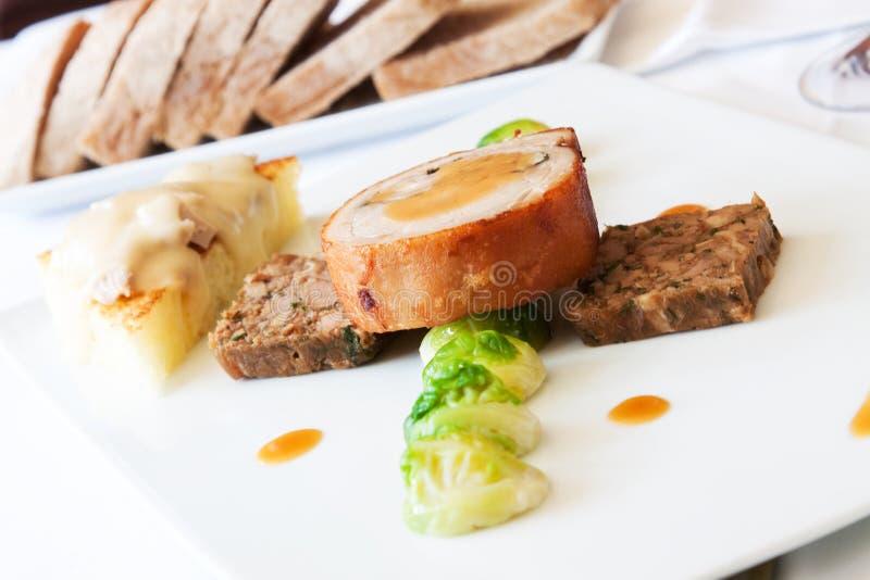 Bifteck de porc de nourrisson image libre de droits