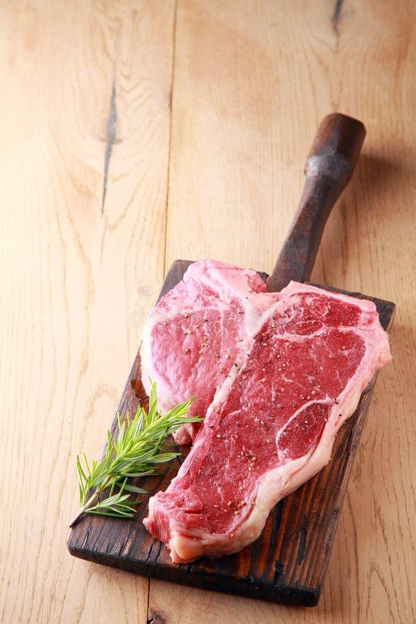 Bifteck de porterhouse maigre tendre photo stock