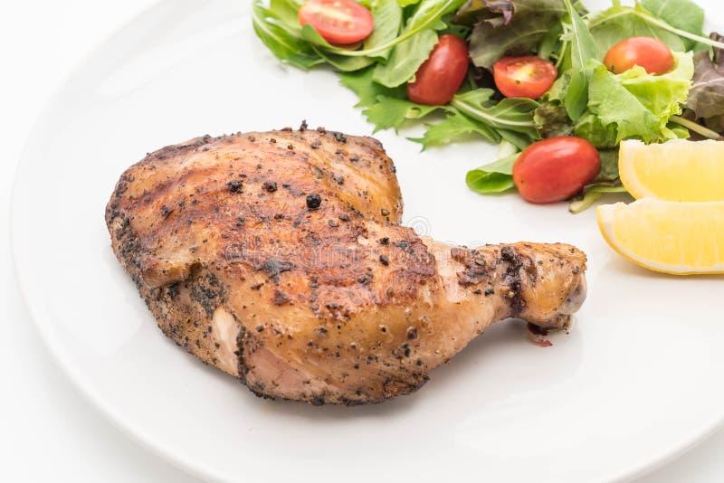 bifteck de poulet de cuisse photos stock