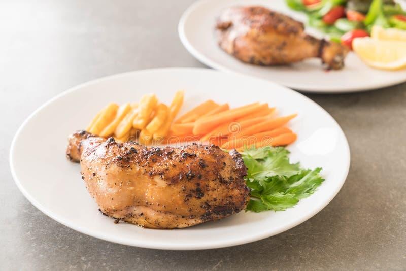 bifteck de poulet de cuisse photo stock