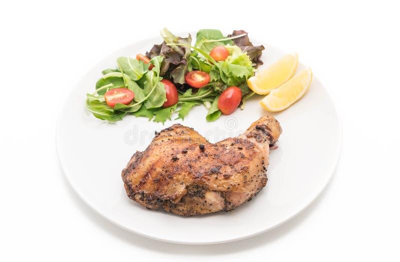 bifteck de poulet de cuisse photographie stock