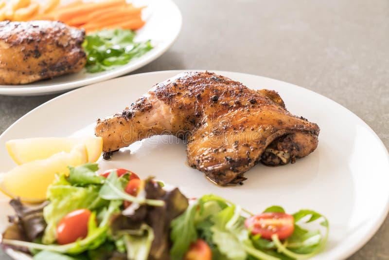 bifteck de poulet de cuisse photographie stock libre de droits