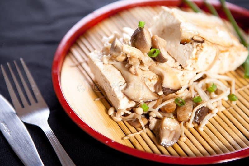 Bifteck de tofu photos libres de droits
