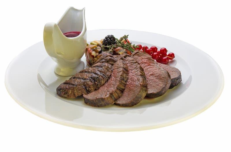 Bifteck de venaison image stock
